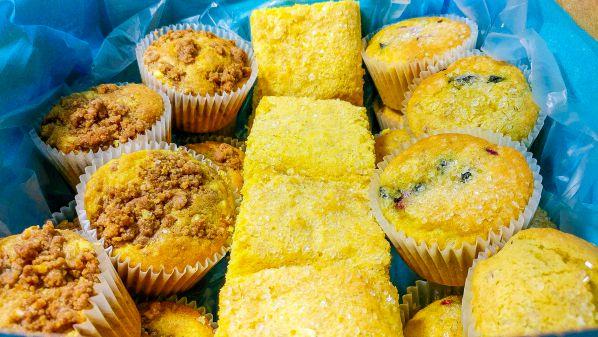 Muffin and Cornbread Breakfast Box